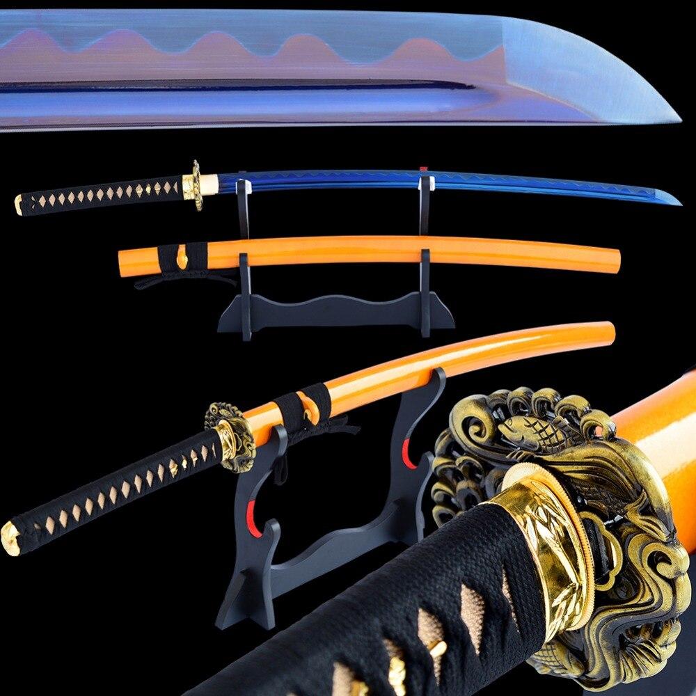 SHI JIAN Full Tang Japonský samurajský meč Katana Sharp Cutting - Dekorace interiéru