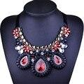 Grânulos de cristal Colares & Pingentes Mulheres Colar Apelativo Étnico Collares Jóias Para Presentes Personalizados Do Partido
