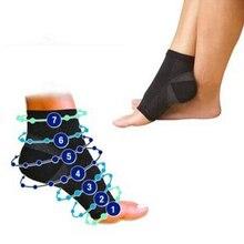 1 пара, мужские носки с ангелом против усталости, компрессионные, дышащие, поддерживающие носки для ног, мужские носки с подтяжками
