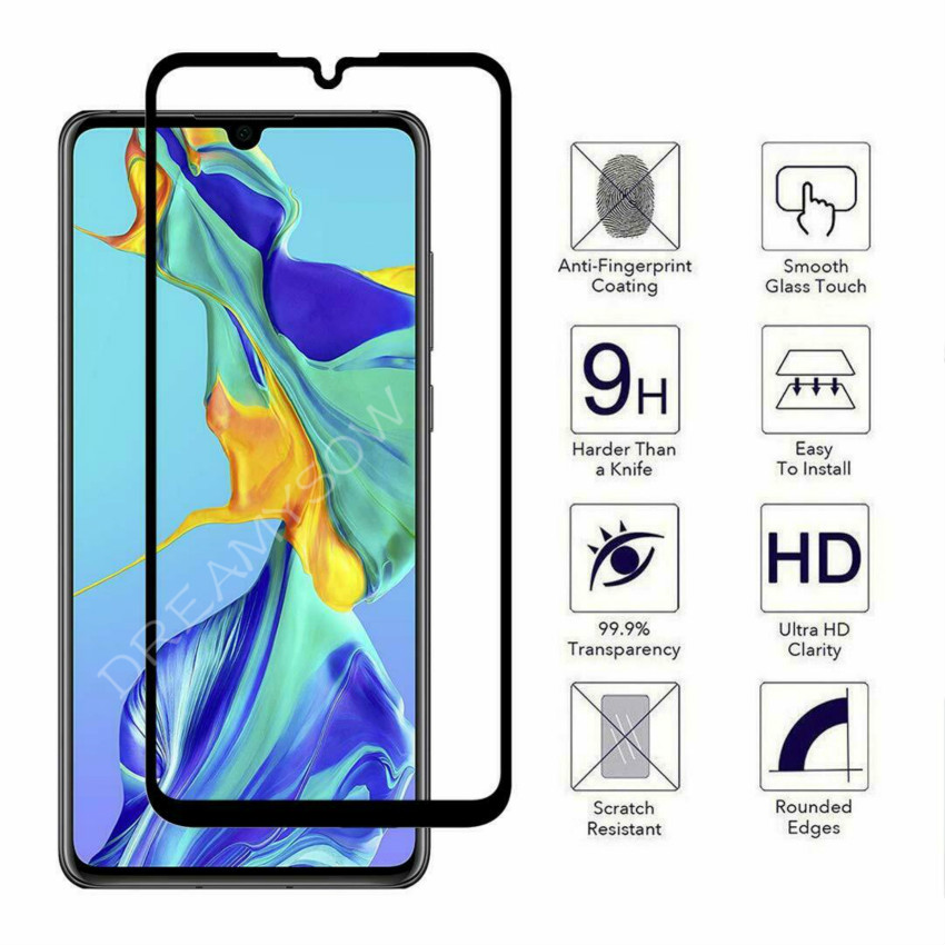 Protective <font><b>Glass</b></font> Full Cover For <font><b>Huawei</b></font> P Smart Z Y9 Prime Y5 2019 Nova 4 3 3e 3i Tempered <font><b>Glass</b></font> <font><b>Psmart</b></font> <font><b>2018</b></font> Screen Protector image