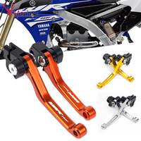 CNC Pitvot Dirt Brake Clutch Lever Motocross Motorcycle For YAMAHA WR250F WR 250F 250 F 2017 2018 2019 Handle Levers