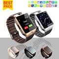 2016 новая Мода Smart Watch DZ09 Поддержка TF/Sim-карты, Часы-Камера SIM/TF Мужчины Наручные Часы для IOS Android Телефон VS U8 GV18 GT08