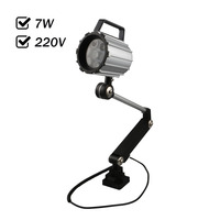 Factory Outlet 7W AC 220V LED Spot Light Water Proof CNC Machine Tool Working Lamp Long
