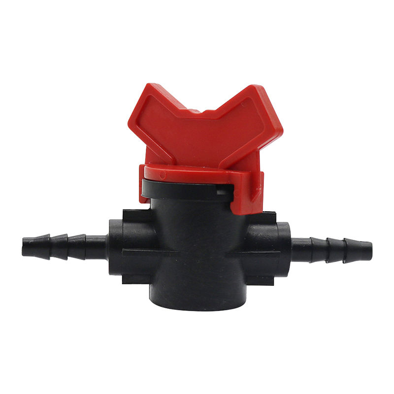 1 Pc 1/4 Inch Garden Valve Barbed Water Hose Connectors Irrigation Valve Garden  Hose Fittings Drip Irrigation Watering