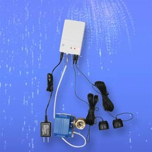 HIDAKA Smart Home Electronic Water Leaking Detector Alarm with Leak Sensor Cable support AAA operated BSP NPT VALVE (DN20*1pcs)