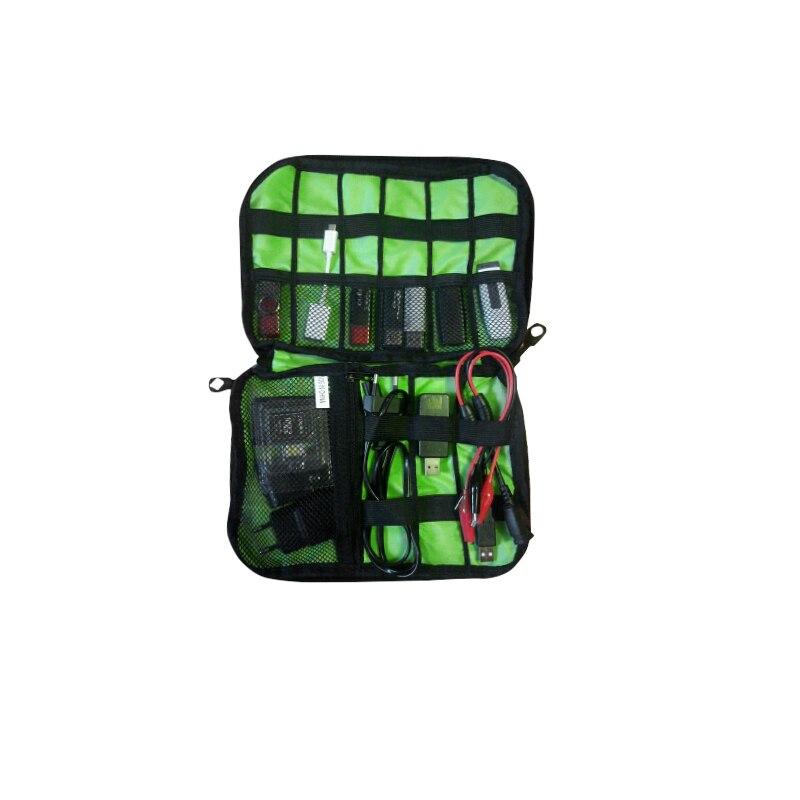 Wulekue новые электронные аксессуары дорожная сумка нейлон мужские дорожный органайзер для дата линия SD карты USB кабель цифровых устройств сум...