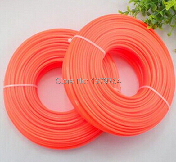 High quality nylon line, trimmer line for 25cc 36cc  43cc 52cc , brush cutter parts, Grass cutter parts factory selling 1pcs nylon line brush cutter head garden lawn mower bump grass brush trimmer head garden repalcement tools black