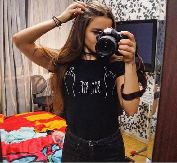 88868241 Sugarbaby Boy bye T shirt Feminist Feminism Grunge Instagram Hipster  Sarcastic t shirt with sayings funny girls tops tee-in T-Shirts from  Women's Clothing ...