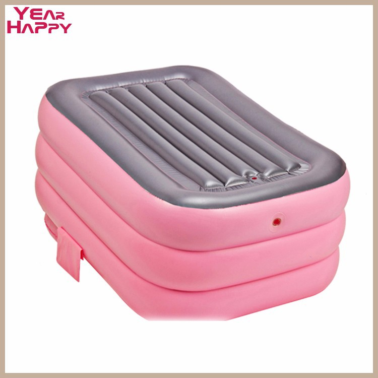 DHL Portable bath adult bathtub plastic inflatable bath tub adults ...