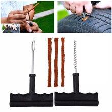 2020 새로운 자동차 타이어 수리 도구 키트 튜브리스 긴급 타이어 빠른 펑크 플러그 블록 공기 누출 트럭/Motobike/자동차 Accessorie