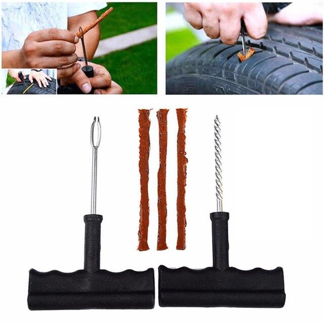 2020 New Car Tire Repair Tool Kit For Tubeless Emergency Tyre Fast Puncture Plug Block Air Leaking Truck/Motobike/Car Accessorie