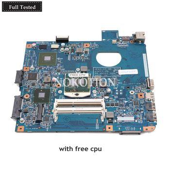 NOKOTION Laptop Motherboard For Acer aspire 4743 4743G JE43-CP MB 48.4NI01.02N MBRXH01001 HM55 DDR3 GT610M Free CPU
