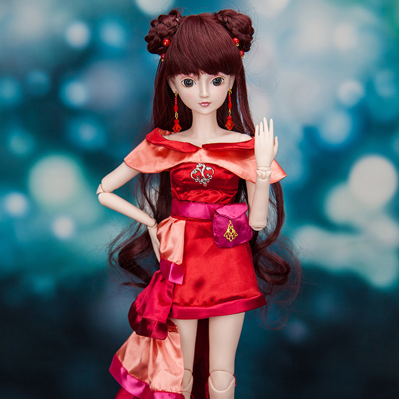 60 cm Ethnic Style BJD SD Dolls Toy 1/3 Bjd Doll Body High Quality Makeup Resin Fairyland Reborn Girls Eyes Toys for Girls Gift handsome grey woolen coat belt for bjd 1 3 sd10 sd13 sd17 uncle ssdf sd luts dod dz as doll clothes cmb107