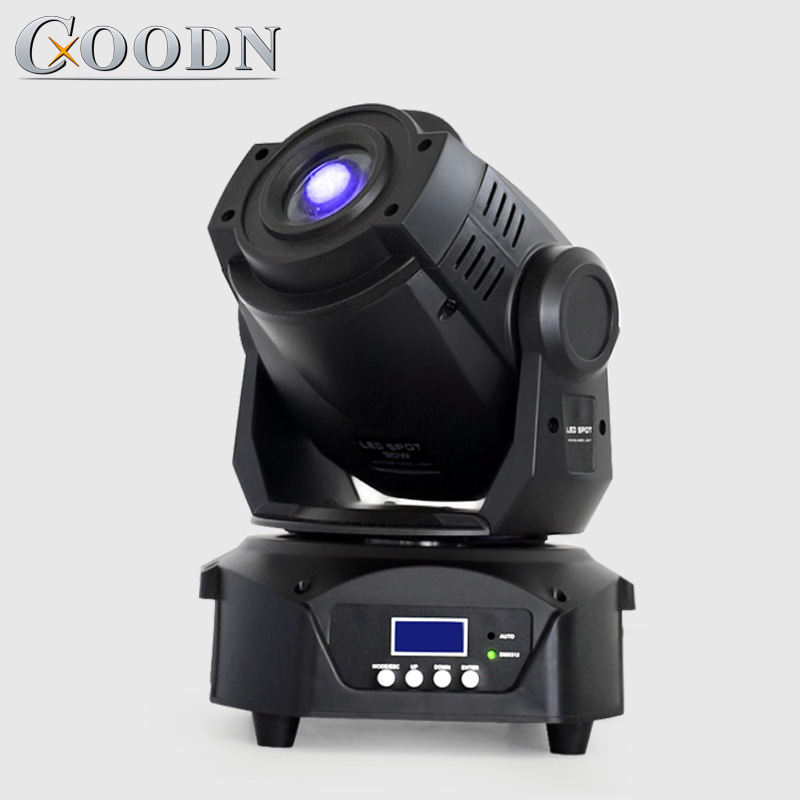 Moving head 90w led gobo with prism and color sport light for dj Stage Light