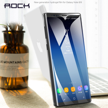 Screen Protector For Samsung Note 9 ROCK 0.18MM Full Coverage Film 3D Curved Soft Hydrogel Galaxy