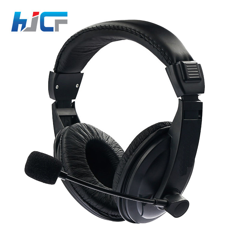 Original HJCF Gaming Headphones Stereo Sound Headset With Microphone Noise Cancelling For Computer PC Gamer SY750 led bass hd gaming headset mic stereo computer gamer over ear headband headphone noise cancelling with microphone for pc game