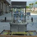 HZGG500-4 Automática máquina de llenado de pasta máquina de llenado de cosméticos detergente totalmente salsa de Tomate, mantequilla de maní, ensalada de d