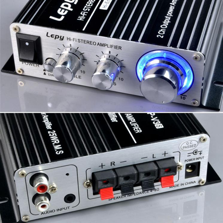 hi-fi estéreo amplifier4 canais de liga de