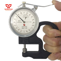 Dial Thickness Gauge 0.001mm 0 1mm Plastic Film Gauge Meter