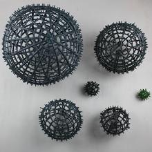 DIY ball heart flower base rack mud belt artificial accessories silk for wedding home party decor frame