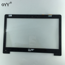 "Купить с кэшбэком touch screen Digitizer Glass Sensor Replacement parts with frame 14.0"" for Asus vivobook s400c s400 s400CA"