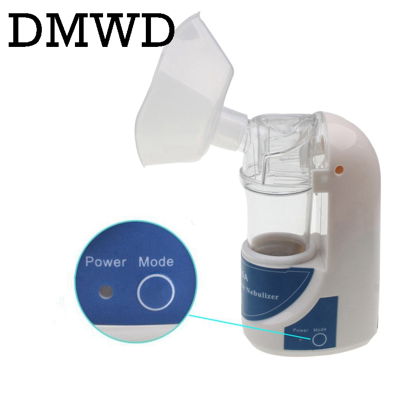 DMWD Ultrasonic Atomizer nebulizer Air Humidifier atomizing machine Medical mist maker Treatment Child Adult Respiratory Disease