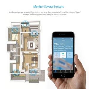 Image 5 - Koogeek ドア窓センサーで動作アップル homekit なしハブ必要交換可能なバッテリーリモートアクセス自動ドア用