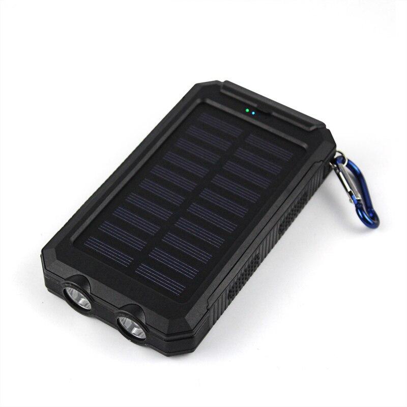 Banco do Poder novidade waterproof solar power bank Bateria : Li-bateria de Polímero