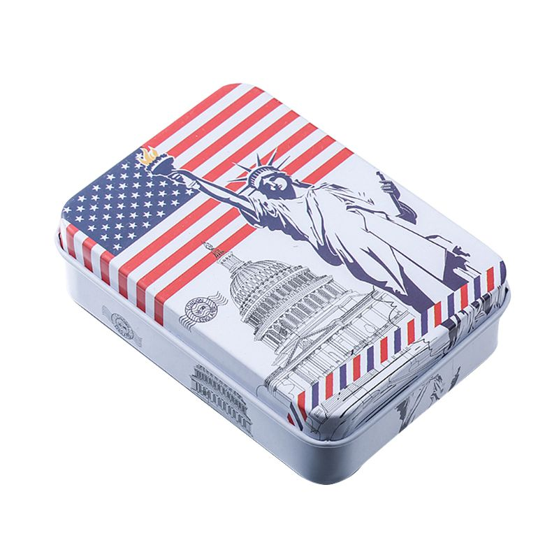 Small Metal Storage Box For Storing Money Coin Candy Key Decoration Organizer Case Home in Storage Boxes Bins from Home Garden