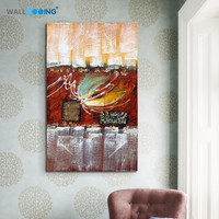 100 Hand Painted Oil Painting Canvas Home Decoration Abstract Pattern Of Butterflies Living Room Wall Art