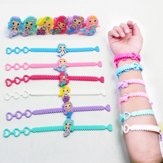 12pcs/lot Mermaid PVC Kids...