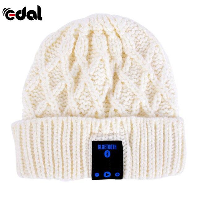 EDAL Beanie Hat Wireless Talk Call Bluetooth Smart Cap Headphone Headset  Speaker Mic MG454 deeffcefb51d