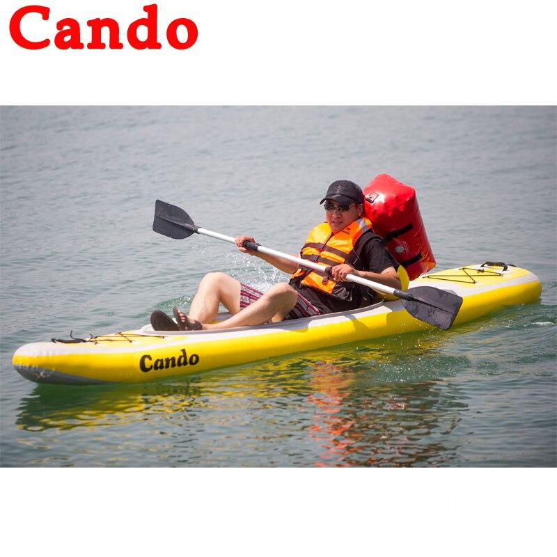 Cando Tiup Perahu Klip Net Fishing Boat Dayung Perahu Bilah Bawah Untuk Hanyut Luar Kano Kayak Balap Kapal