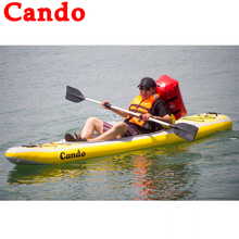 Cando Inflatable Boats Clip Net Fishing Boat Rowing Boat Slats Bottom For Drifting Outdoor Canoeing Kayaking Racing Boats Ships