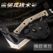 HX OUTDOORS FT-02 Outdoor Tactical Engineer Axe,Weapon Field Camp Axes, Mountain Axe camping hand axe Hunting tools Dropshipping