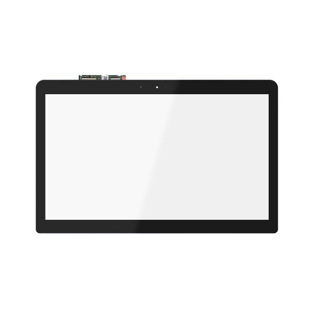 15.6 Touch screen Digitizer Front Glass Glass Panel For Asus FP-ST156S1026AKM-03X touch screen digitizer glass for asus vivobook v550 v550c v550ca tcp15f81 v0 4