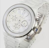 Classic MELISSA Women Ceramic Bracelet Watches Elegant Lady 6 Hands Dress Clock Week Calendar Quartz Relojes Montre femme NW2211