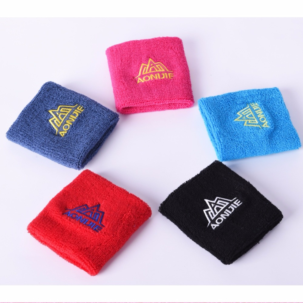 Protector Wristbands Wrist Support For Weightlifting Gym Tennis Sport Carpal Wrist Brace Sweatbands Cotton Wrist Safety*1PCS