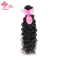 Queen Hair Products Brazilian Natural Wave Remy Hair Bundles 100 Human Hair Weave