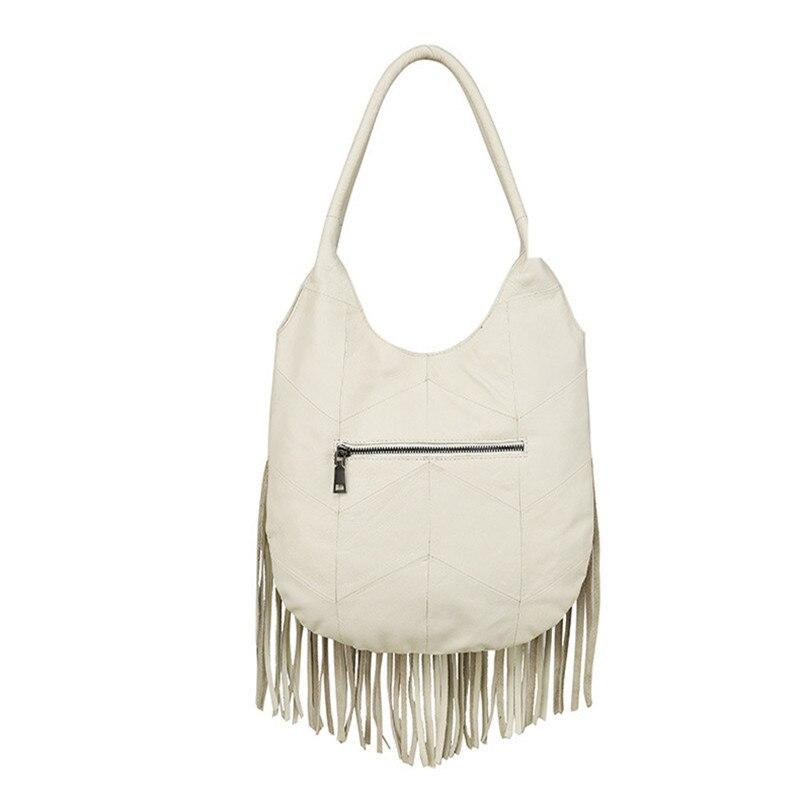 Sac White Main Marque Sacs Véritable blue À Épaule Cuir Mode Grand Gland Qualité Haute Luxe Femmes Designer De En Dames T0qUxw4T