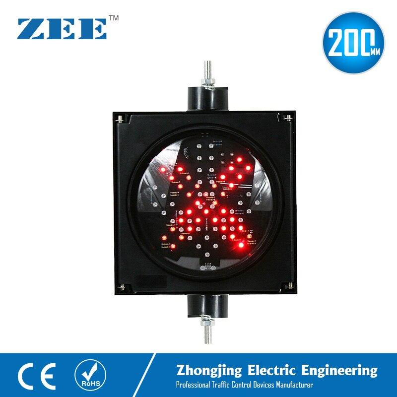 Купить светодиодный светофор 220 в/110 в 12 в или 24 8 дюймов 200 мм