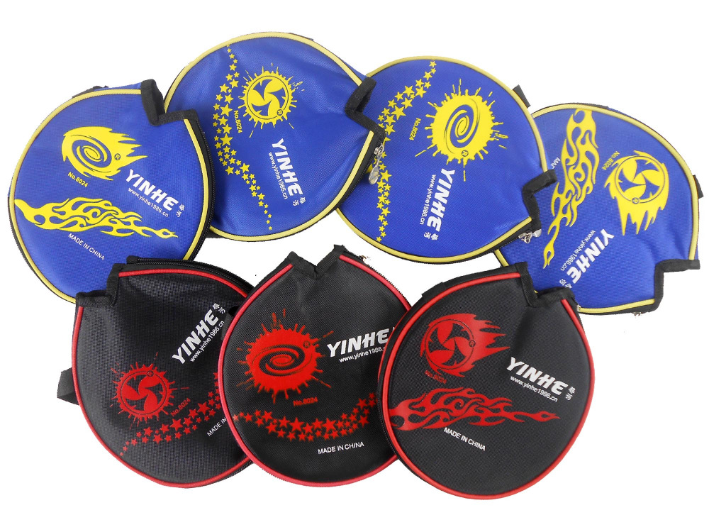 9x Galaxy YINHE Table Tennis Small Case Bat Cover for PingPong Racket