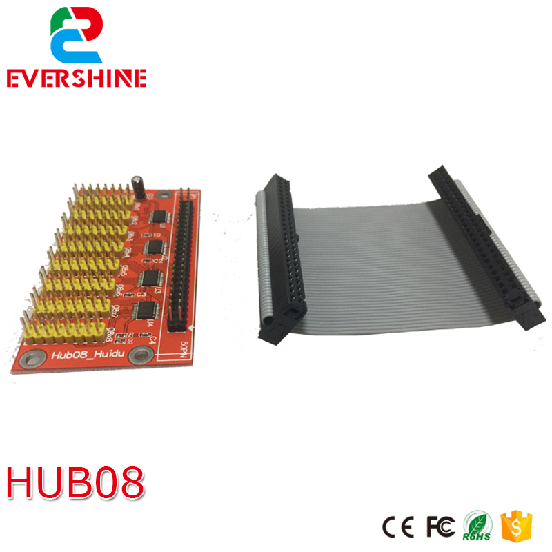 Huidu Hub board work with D30 asynchronous & synchronous led control card used for indoor / outdoor LED screen