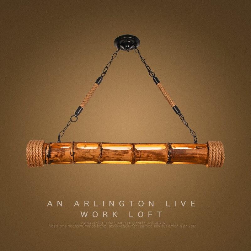 Винтажный подвесной светильник с веревкой, креативный промышленный светильник, E27, лампа Эдисона, американский стиль, для ресторана/бара, ук
