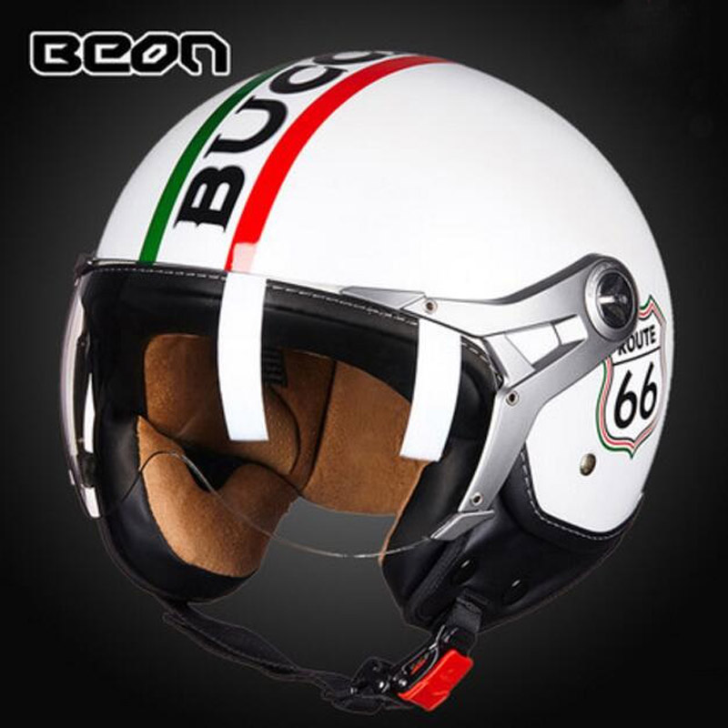 2017 Autumn Winter New Netherlands BEON 3/4 Open Face Motorcycle helmet motocross motorbike helmet made of ABS and PC Lens Visor masei mens womens war machine gray ironman iron man helmet motorcycle helmet half helmet open face helmet abs casque motocross