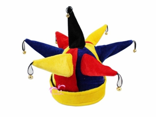colorful halloween hat with small bell carnival striped cap funny halloween costume party props for birthday