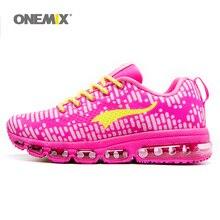 ONEMIX Woman Running Shoes Women Nice Run Athletic Trainers Peach Zapatillas Sports Shoe Max Cushion Outdoor Walking Sneakers