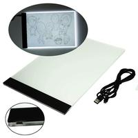 Wholesale A4 TATTOO Ultra Thin LED Stencil Tracing Light Box Table Touch Board New Arrival 2016