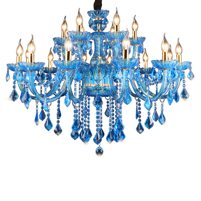Inexpensive Red Chandelier: Cheap Price With High Quality Red Bule Store Modern Home