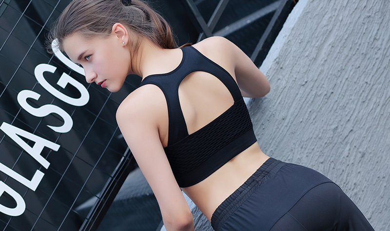 73d94fb6eb000 2019 CrazyFit L 4XL Sports Bra Plus Size Women 2018 Sport Fitness Running  Yoga Gym Push Up Padded Crop Tops Underwear Brassiere From Jingtianwat